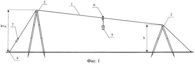 Переносная канатная дорога (патент 2399572)